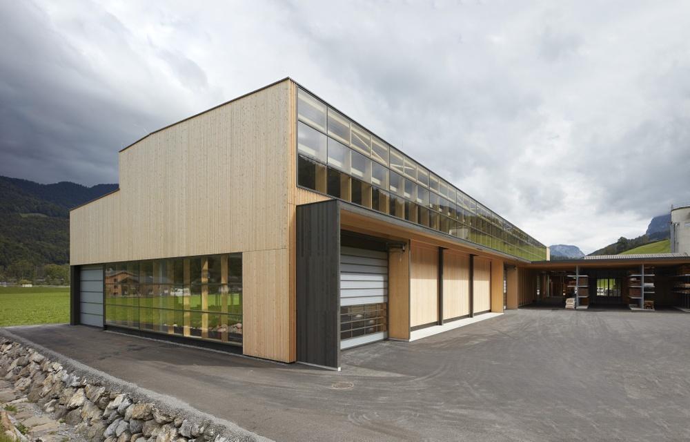 Montagehalle Kaufmann Zimmerei und Tischlerei, Reuthe