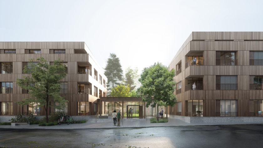 Cronstetten Haus Liederbach/Frankfurt © White Arkitekter