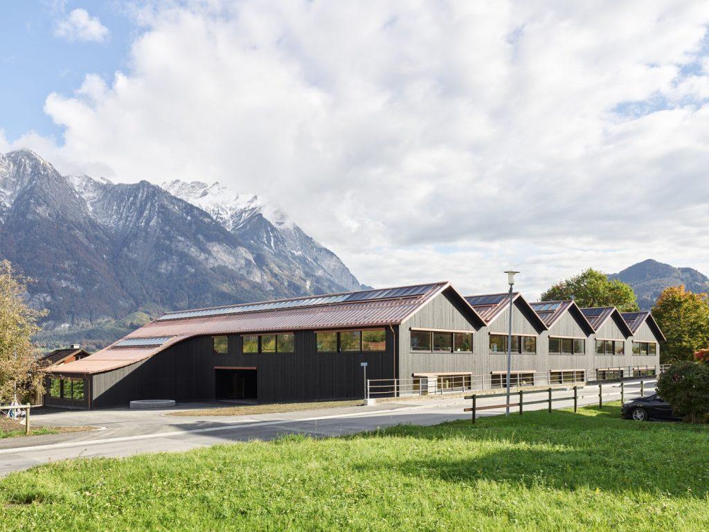 Primarschule Feld Azmoos © Georg Aerni