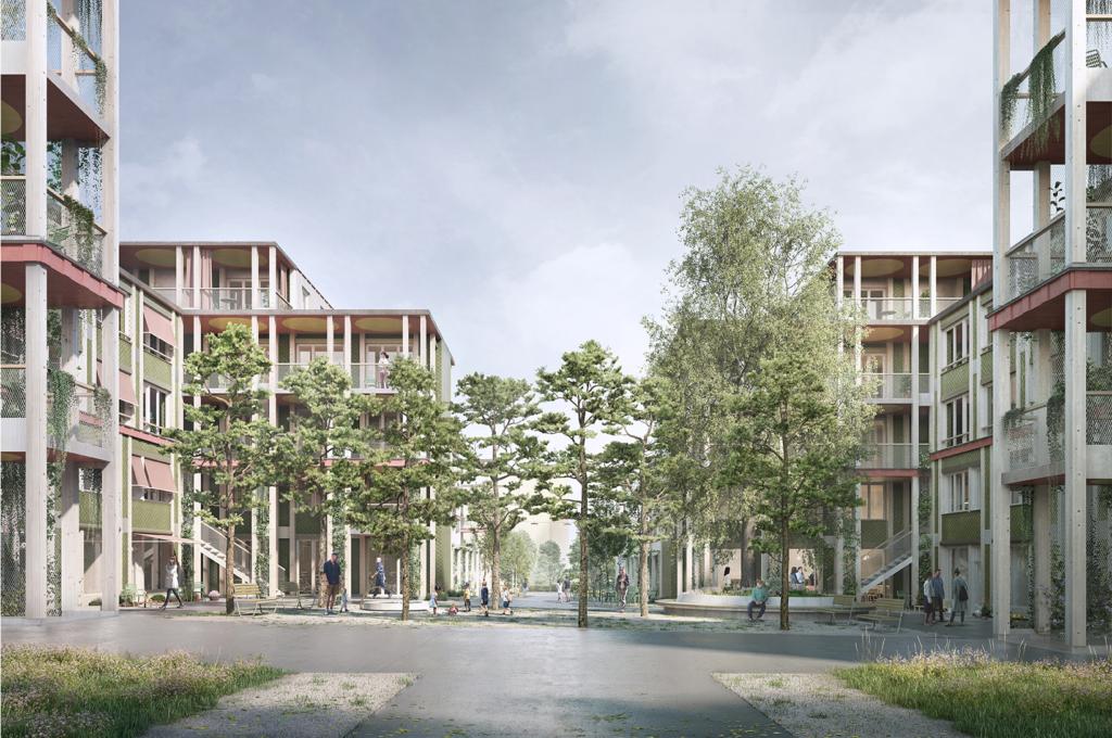 GISA Siedlung Affoltern, Zürich © Esch Sintzel Architekten & Masswerk Architektur
