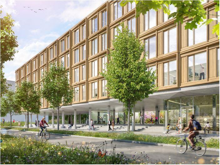 Verwaltung Wiesbaden © Dietrich Untertrifaller Architekten
