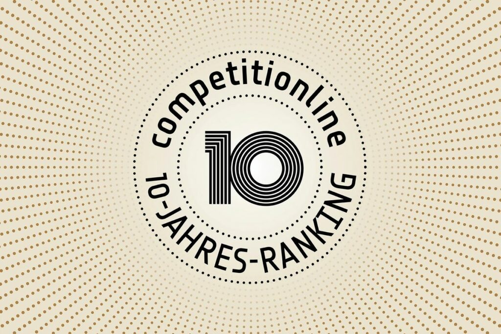 10 Jahres Ranking © competitionline